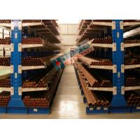 Durable Double Sided Cantilever Rack Galvanized Warehouse Racking Shelves for sale