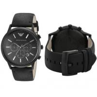 China Wholesale New In Box Emporio Armani AR2461 Classic Men's Black Dial Chronograph Watch wholesale