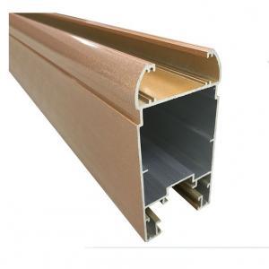 China Yellow Sand 20GP T3 Powder Coated Aluminium Extrusions on sale