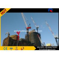 China Luffing Jib Tower Crane Max Height 162M Variable Frequency Hoist Mechanism wholesale