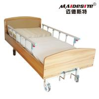 China Easy Operation Manual Adjustable Bed For The Elderly Spray Steel Material wholesale