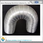 China Aluminum Foil Semi - Rigid Corrugated Pipe / Aluminum Foil Ventilation Pipe wholesale