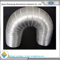 Quality Aluminum Foil Semi - Rigid Corrugated Pipe / Aluminum Foil Ventilation Pipe for sale