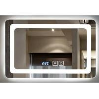 IP44 Wall Mounted Led Behind Mirror For Luxury Hotel , Frameless Bathroom Mirror