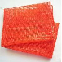China Orange Color Plastic , PE , PP Woven mesh vegetable bags 50kg For Onions And Eggplant wholesale