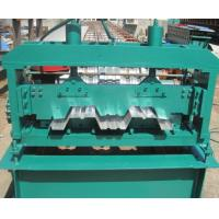 China Floor Deck Forming Machine Coil Width 1700mm Anti - Rust Floor Deck Roll Forming Machine Tensile Strength 720 Mpa wholesale