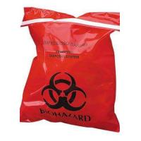 China Large Autoclavable Biohazard Waste Bags Recyclable 15 - 100 Micron Thickness wholesale