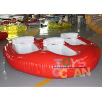 China Crazy Inflatable Water Toys Donut Boat Towable Ski Tube For Flying Water Sport wholesale