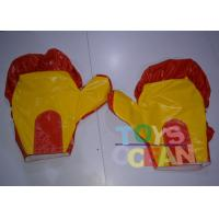 China Gaint PVC Inflatable Punching Gloves For Boxing Ring Sport Game wholesale