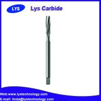 China Factory direct sales solid carbide Threading end mills and Helical-flute tap etc threading cutter on sale