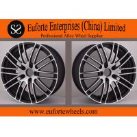 Wholesale Susha Wheels-Customized 19inch 18inch Black Forged Wheels / Mazda Auto Wheels Rims from china suppliers