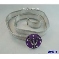 China Corset Middle East Metal Plated Rhodium Slim Skinny Waist Belt 36 Inch OEM wholesale