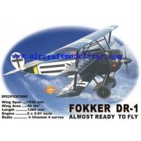 China Fokker DR-1,wingspan1530mm remote control plane wholesale