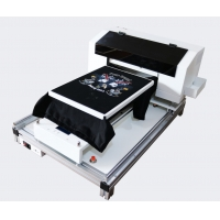 China New Condition Automatic Industrial T-shirt Printer Dtg Direct To Garment Printing Machine on sale