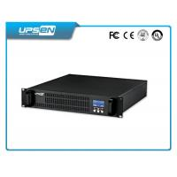 China 19 Inch Rack Mountable Ups With Surge Protection And Short Circuit Protection wholesale