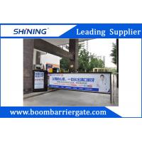 China 30m Remote Control Advertising Access Control Barriers And Gates With LED Light wholesale