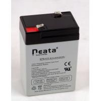 China Lead Acid Battery 6V-4ah (ISO, CE, UL, RoHS) (NT6v4ah) wholesale