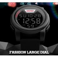 Quality Fashion Big Dial Men Multifunction Casual Wrist Watches 5 ATM Chrono Watches 1218 for sale