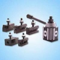 China Six-piece Piston and Wedge Type Tool Post Set, Includes Universal Parting Blades wholesale
