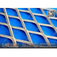 China 2.0X15X40mm Galvanised Expanded Metal Mesh wholesale