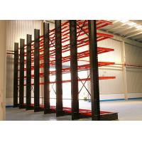 China Single Sided Cantilever Storage Racks 1500MM Max. Arm Length For Irregular / Longer Products wholesale