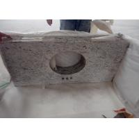 China Commercial / Residencial Granite Vanity Tops , Granite Look Countertops With Faucet Hole on sale