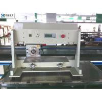 China high speed steel Blade PCB Depaneling Machine for 0.8-3.5 mm Cutting Thickness wholesale