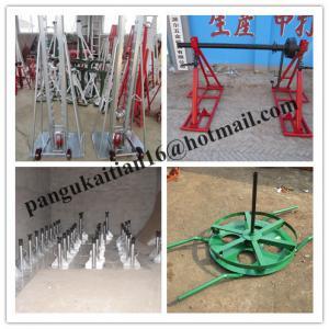 China Sales Cable Drum Jacks,Cable Drum Handling,best Cable Drum Lifting Jacks wholesale