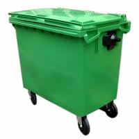 China Outdoor plastic garbage bin on sale