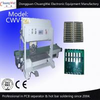 China Automatic V Cut Pcb Separator With Conveyer wholesale