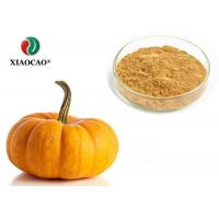 China Food Supplement Organic Herbal Extracts Nutritional Organic Pumpkin Powder wholesale