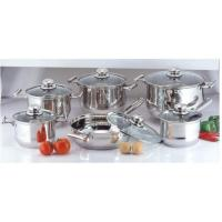 China Mirror Polish Kitchen Stainless Steel Cookware Sets, Cooking Pots and Pans wholesale