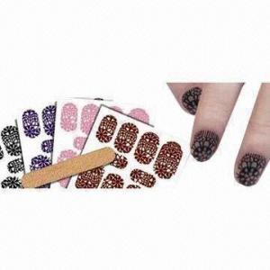 China Nail Art 3D Stickers, Fashion and Beauty Accessory wholesale