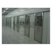 China Automatic Door Clean Room Air Shower Tunnel For Laboratory Customized Length on sale