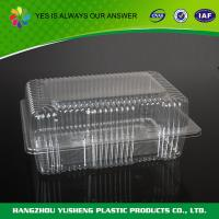China  BOPS Disposable Food Containers  , Plastic Deli Containers  Bakery Container  for sale