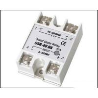 China Fotek Type Electrical Relay / Solid State Variable Relay With LED Indication SSR-40DA wholesale