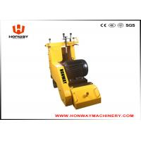 China Yellow Floor Scarifying Machine , Concrete Floor Leveling Machine Long Using Life wholesale