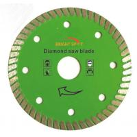 China 7 Inch Super Thin Diamond Saw Blade Hot Pressed Sintered With 22 / 23mm Inner Hole wholesale