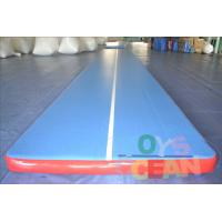 China Inflatable Durable Yoga Tumbling Mats / Gymnastics Air Track For Gym Practice Equipment wholesale