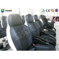 China Genuine PU Leather Movie Theater Seat Dynamic For 5D Cinema System wholesale