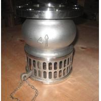China Hand Lever Operator SS Stainless Steel Foot Valve For Oil , Liquid / Suction Foot Valve wholesale