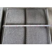 China Durable 304 Stainless Steel Wire Mesh Demister Pad With Custom Shapes wholesale
