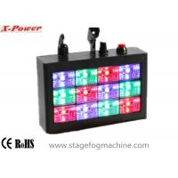 China Sound-activated LED Strobe Lights With 12 pcs * 1w RGB High Power LEDs  VS-74 wholesale
