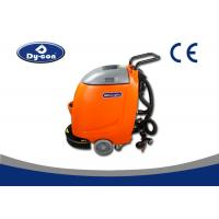 Mini High Efficiency Walk Behind Floor Scrubber Different Colors / Voltage