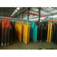 China Hang Upside Down Telescopic Cylinder Double Acting Heavy Duty Stoke 16m wholesale