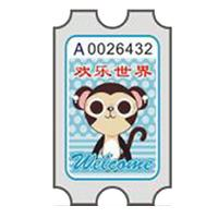 China High quality redemption ticket for game machine wholesale