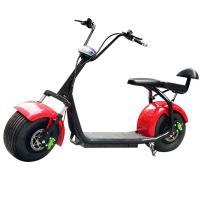 China Fashionable Harley Electric Scooter Range 45 - 50KM Climb Capacity > 30degree on sale