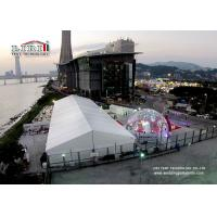 15m x 40m Waterproof Luxury Wedding Tent with Air Conditioner , Marquee with decoration