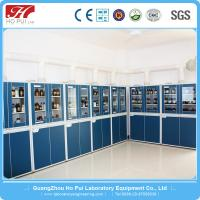 China Professional Biological Chemical Wood Reagent Cabinet For Lab Use wholesale