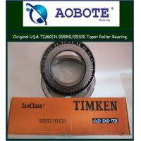 China P5 Origin USA Timken Tapered Roller Bearing in low frequency vibration 99550 / 99100 wholesale
